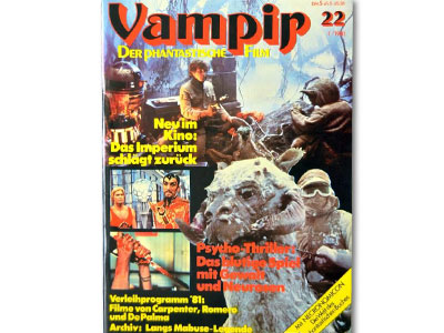 Vampir - Das Magazin f�r den Science Fiction und Horror
